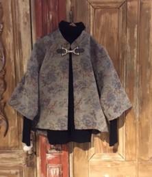 Gobelin woven stand collar jacket