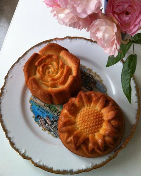 お手製パウンドケーキ