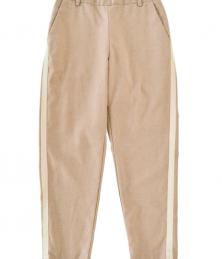 Linen pants with R/L line