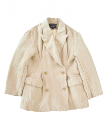 Damaged processing linen jacket