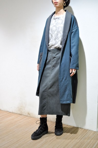 Sweat gown coat
