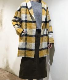 Check half coat