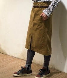 Front tuck skirt