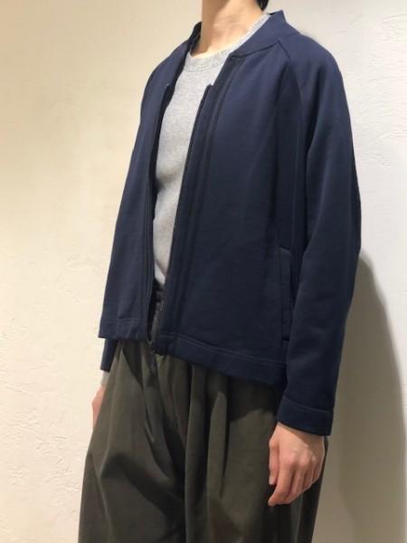 Sweat ZIP jacket