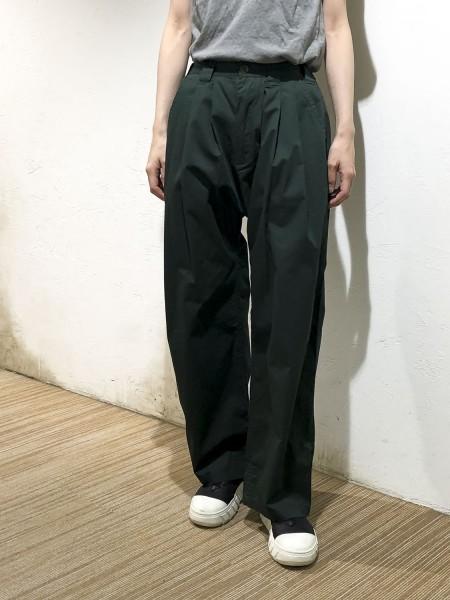 Tucked pants