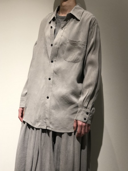 Plain oversized shirt