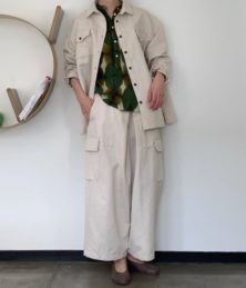 Double poke wark shirt jacket,pants