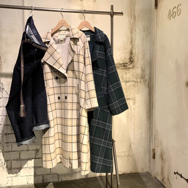 Check Long Coat