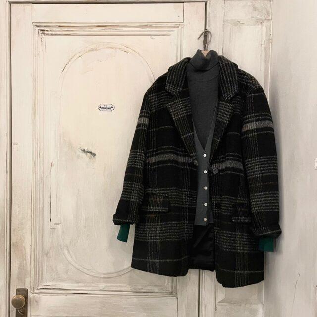 Check Short Coat