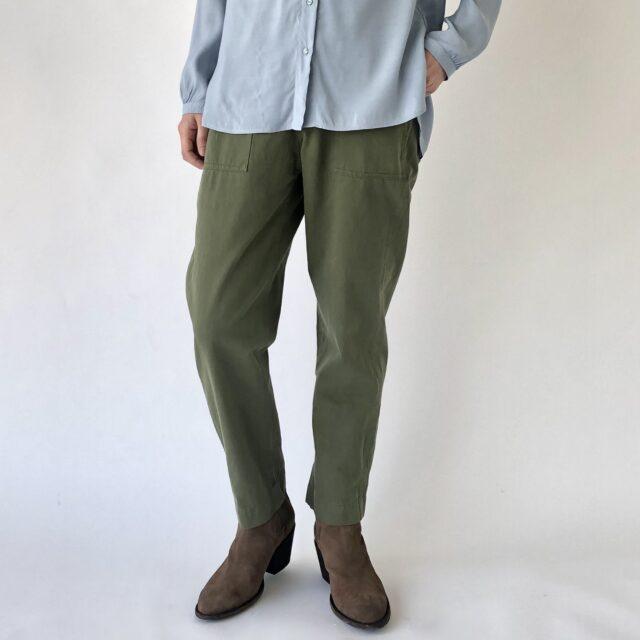 Tapered baker pants