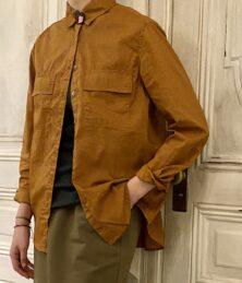 W pocket cotton shirt