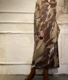 Pullwover pattern dress